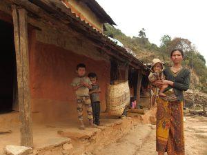 crianças das aldeias